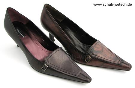 Schuhe mit Metalliceffekt, Belmondo Pumps
